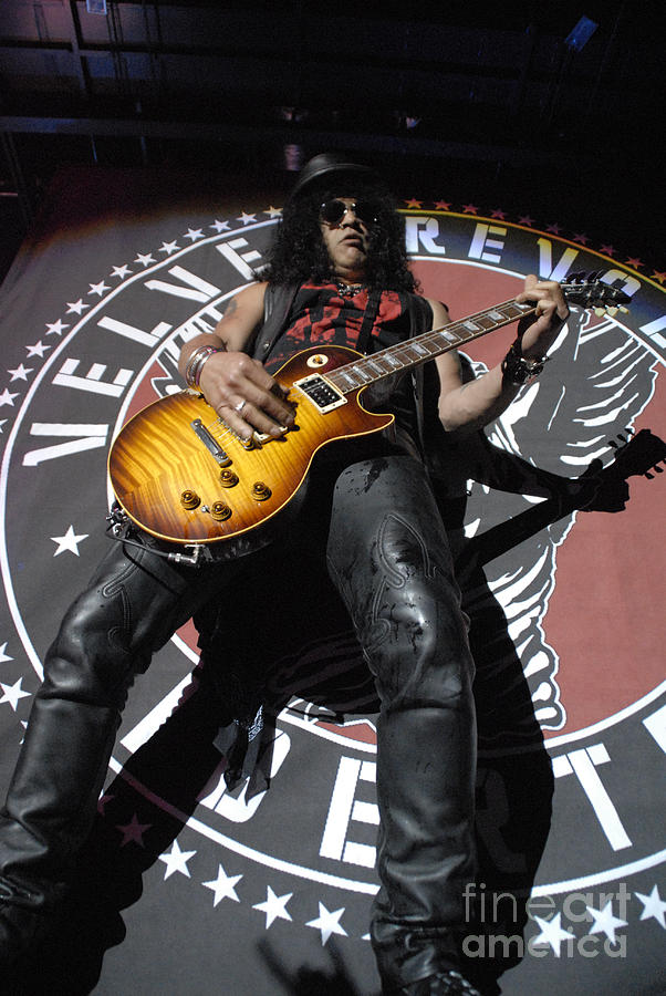 Slash Guitarist Photograph