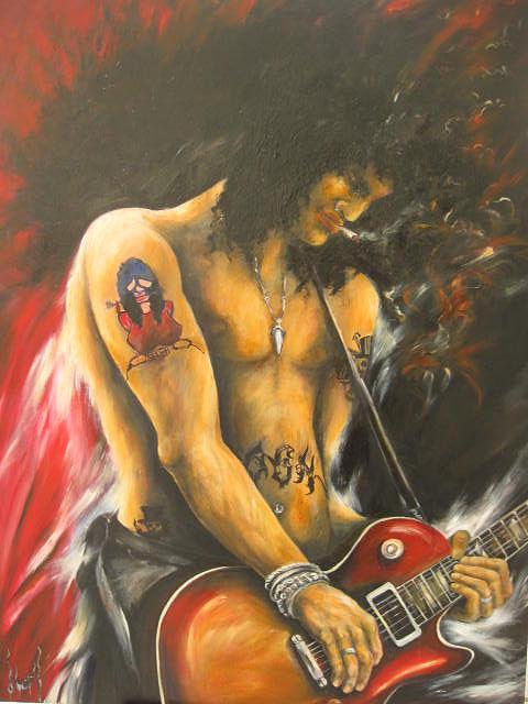 Slash Painting - Slash by Nori Nurita