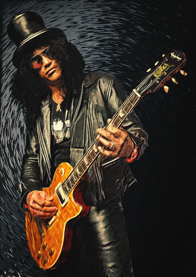 Slash Digital Art  - Slash Fine Art Print
