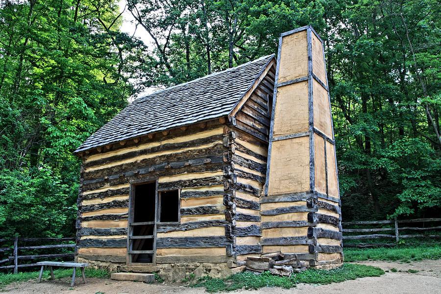 Slave Cabin Photograph
