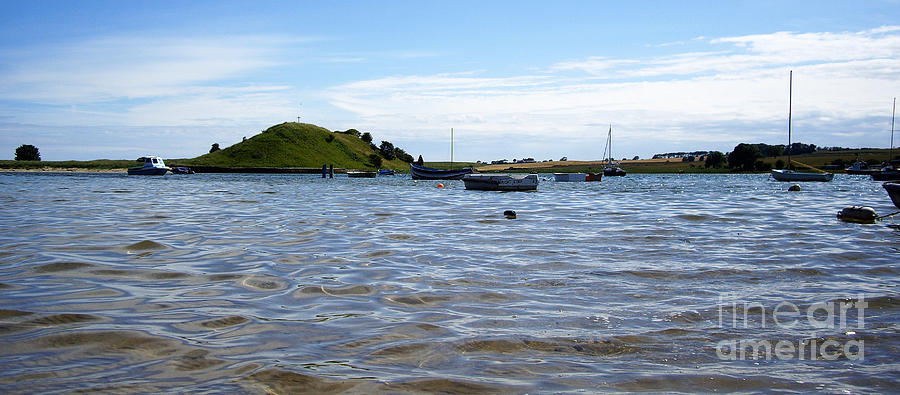 Alnmouth Photograph - Sleepy Moorings by Malcolm Suttle