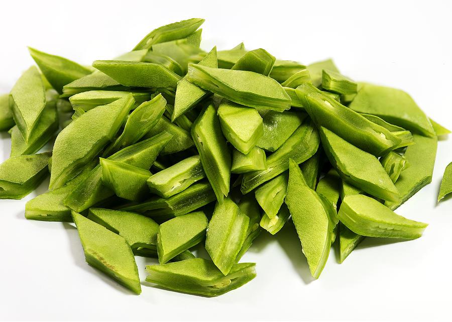 sliced green beans - 900×641
