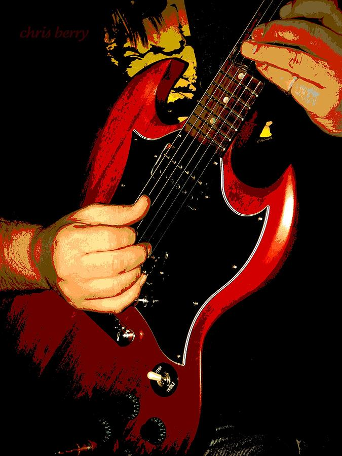 Slide Guitar Photograph  - Slide Guitar Fine Art Print