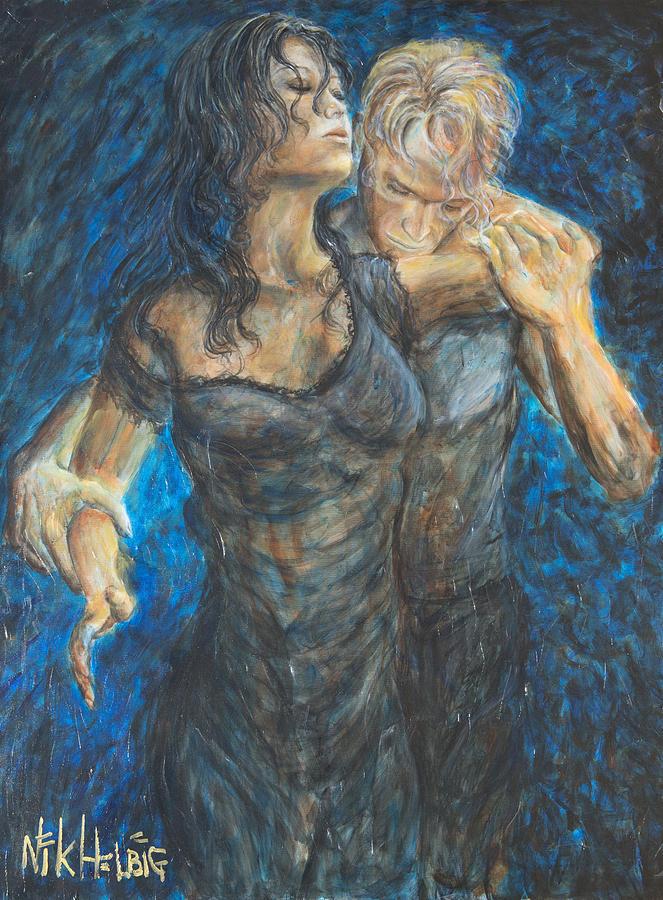 Slow Dancing 1 Painting