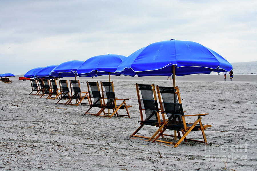 Beach Photograph - Slow Day At The  Beach by Thomas Marchessault
