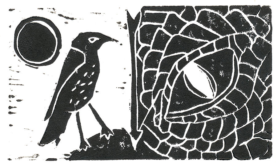 Smaug And The Thrush Relief