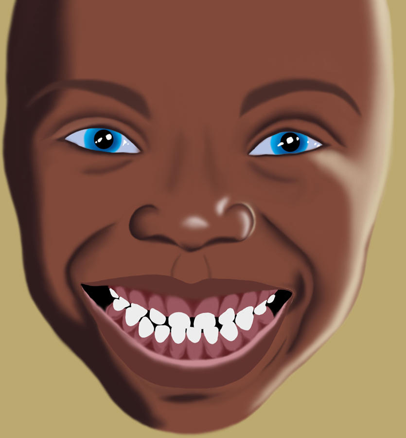 Smile Digital Art