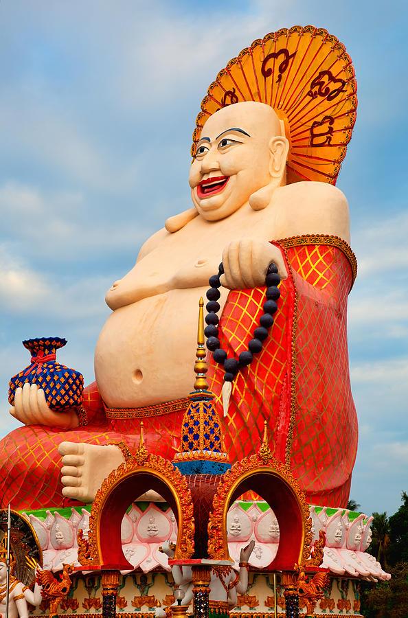 smiling Buddha Photograph