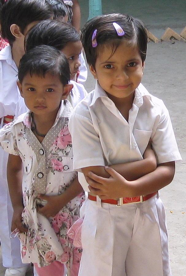 Smiling School Girl Photograph
