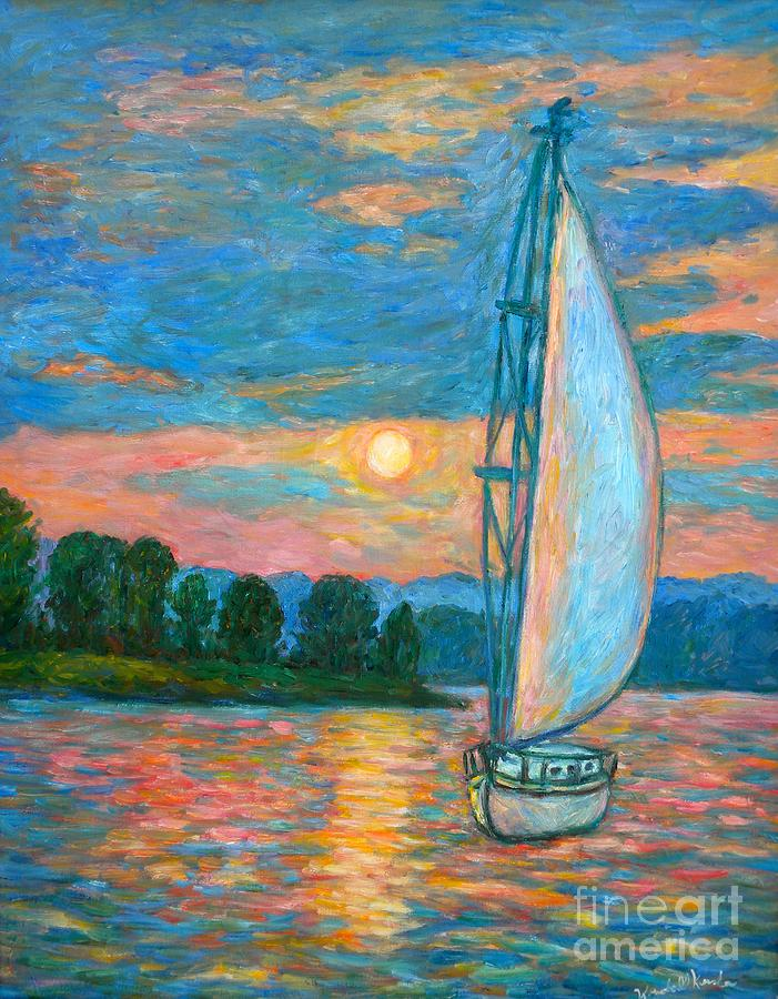 Smith Mountain Lake Painting