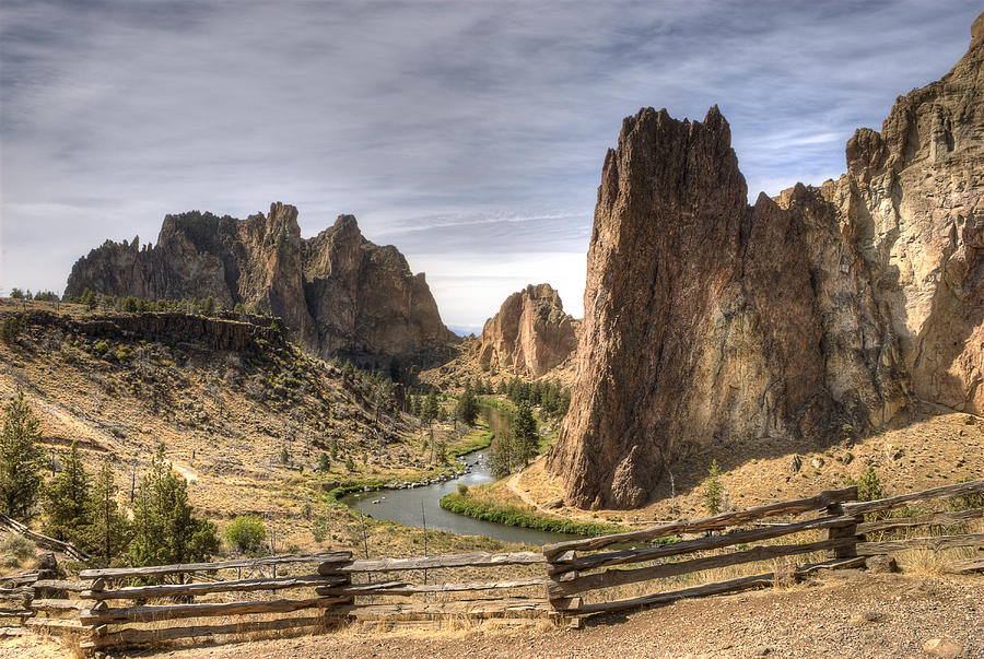 Smith Rocks State Park Photograph