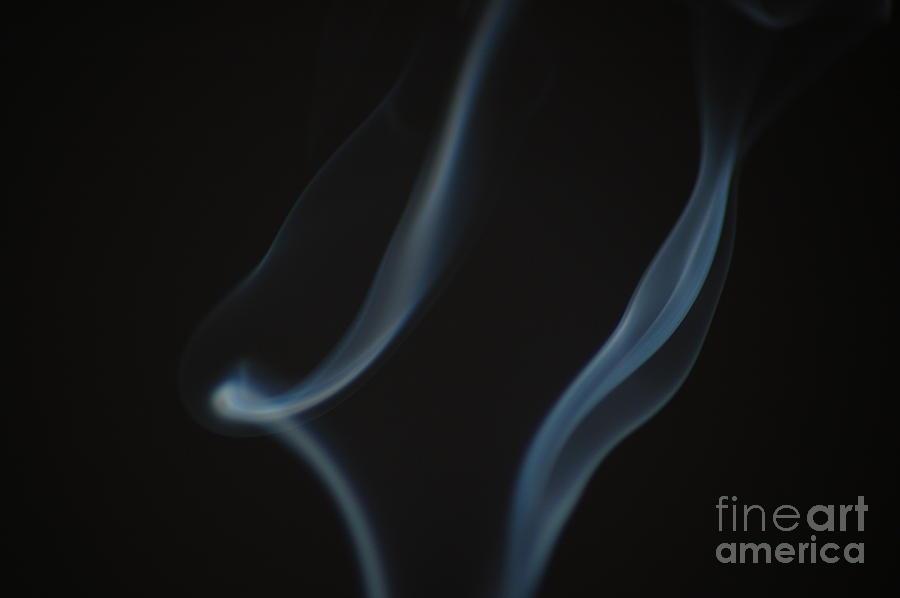 Smoke Art Photograph - Smoke 3 by Patrick Shupert