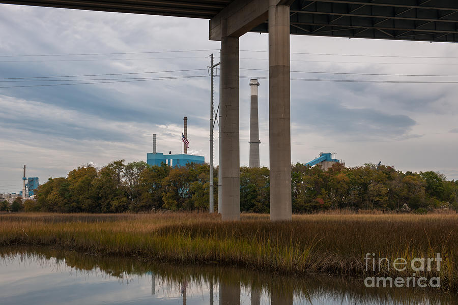 Smoke Stack Photograph
