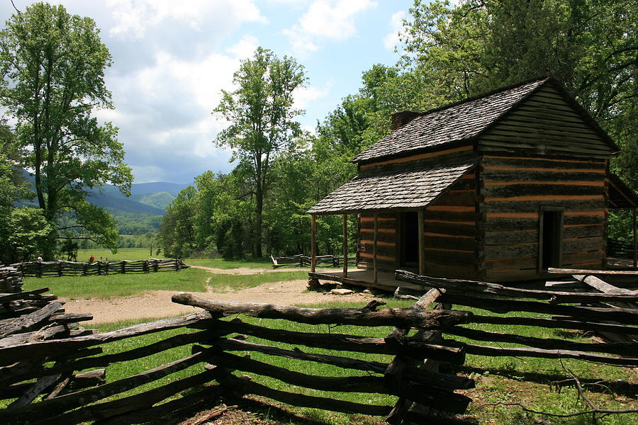 Smokey Mountain Cabin Photograph