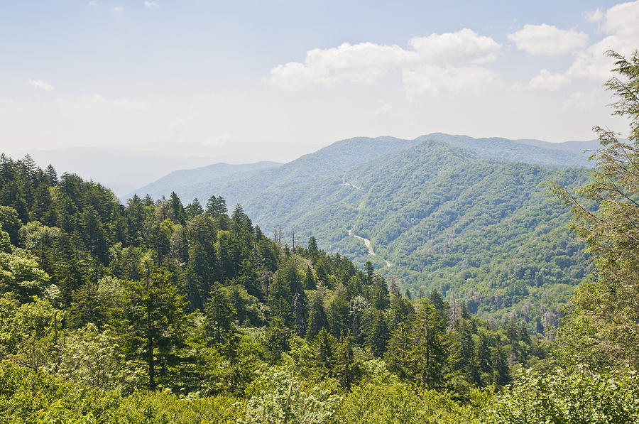 Smokey Mountain Range Photograph