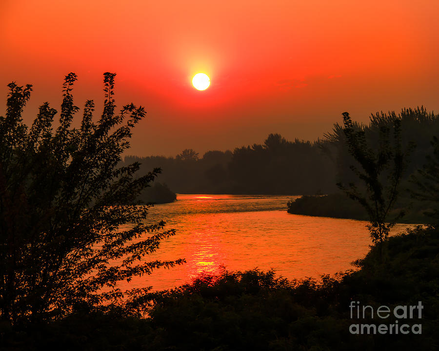 Smokey Sunrise Photograph  - Smokey Sunrise Fine Art Print