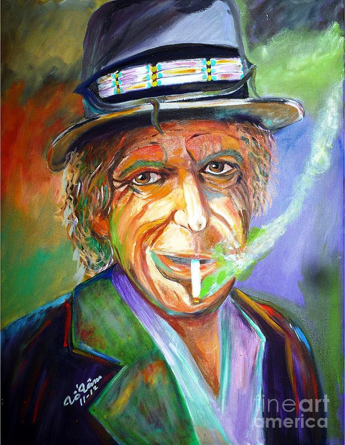Smoking Painting  - Smoking Fine Art Print