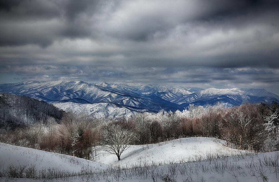 Smoky Mountain Range Photograph