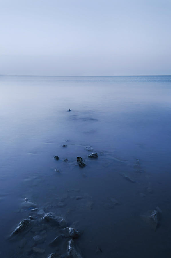 Smooth Sea Photograph  - Smooth Sea Fine Art Print