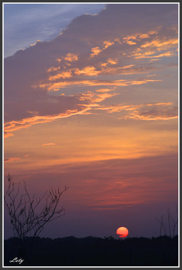 Bible Photograph - Smooth Sunset by Leticia Latocki