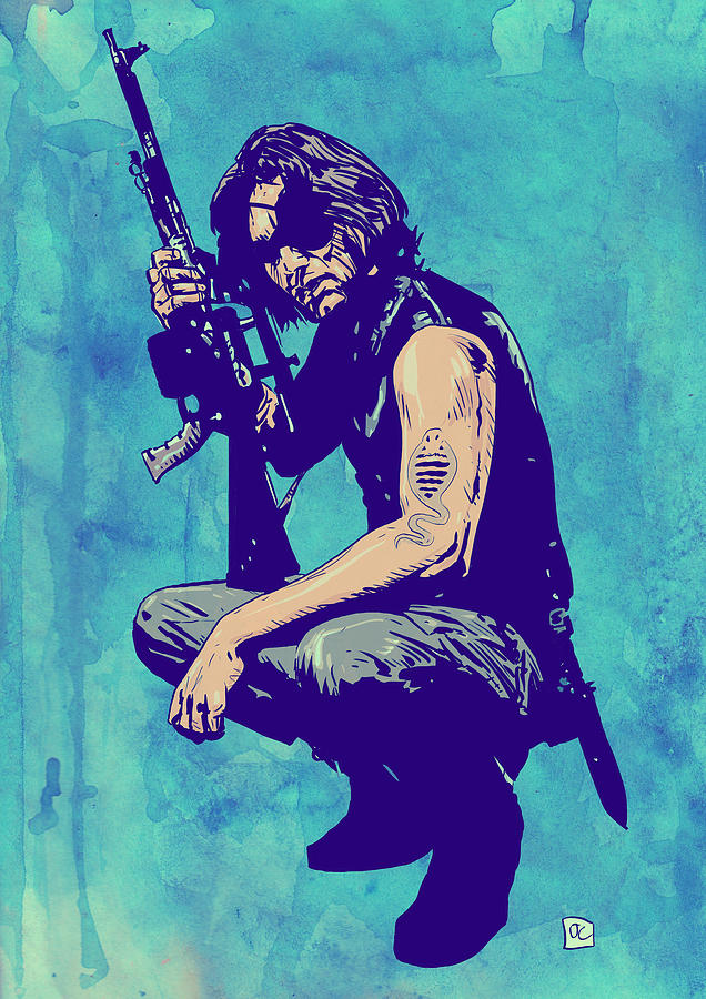 Snake Plissken Drawing