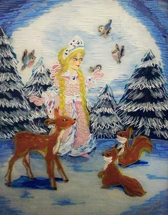 Snigurochka 2  Painting