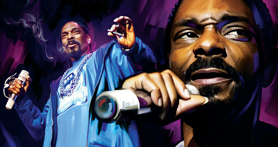 Snoop Dogg Artwork Mixed Media