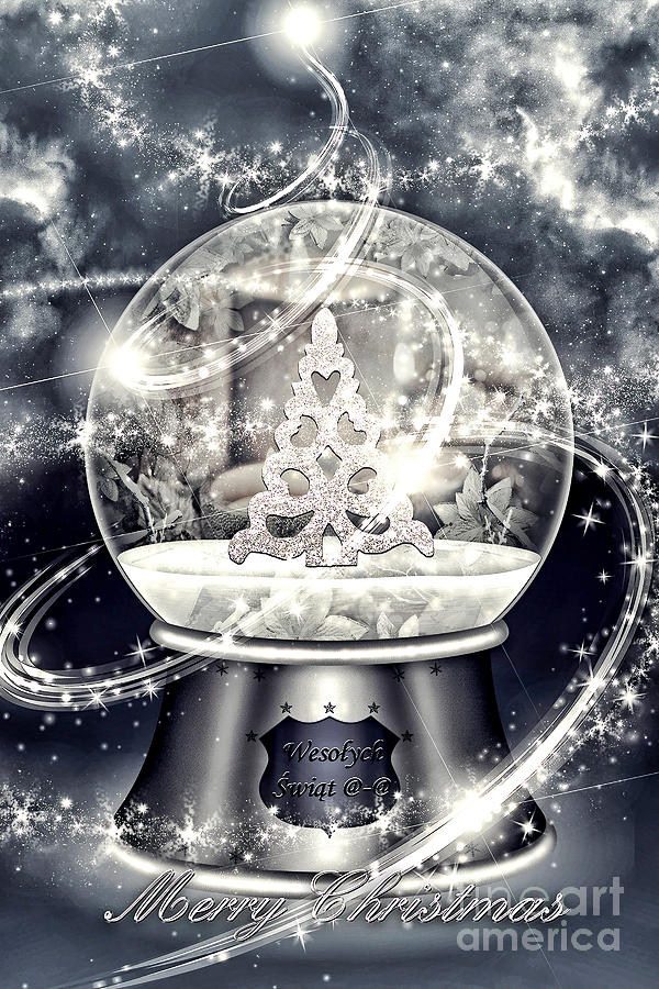 Snow Ball Digital Art - Snow Ball by Mo T