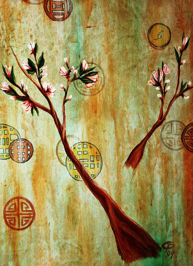 snow blossoms II Painting