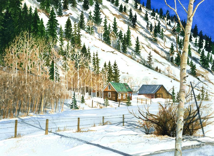Snow Bound Painting