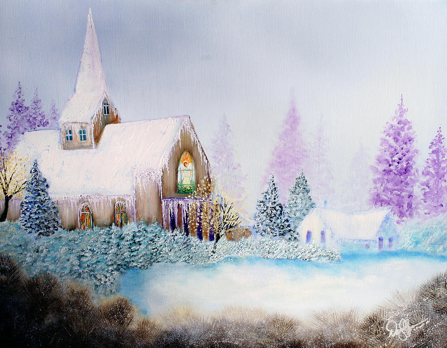 Snow Painting - Snow In Florida by David Kacey