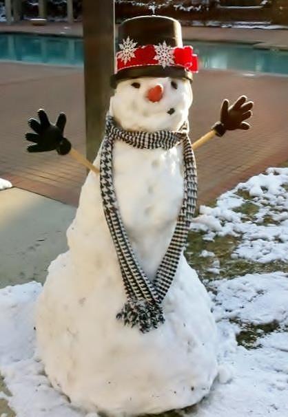 Snow Prince Hug Photograph