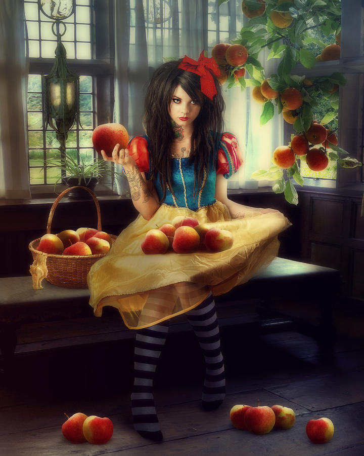Snow White Photograph