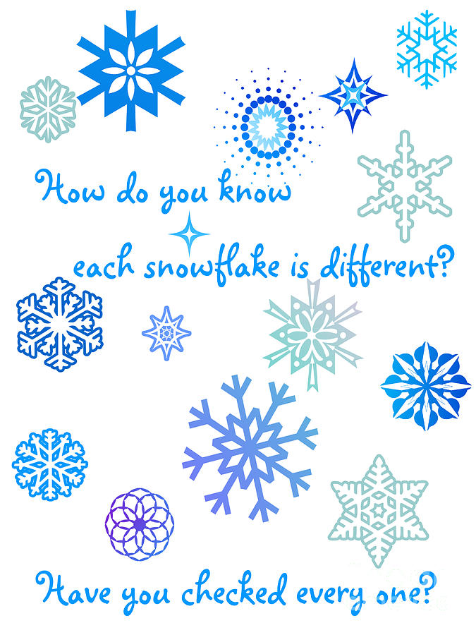 Snowflakes Digital Art