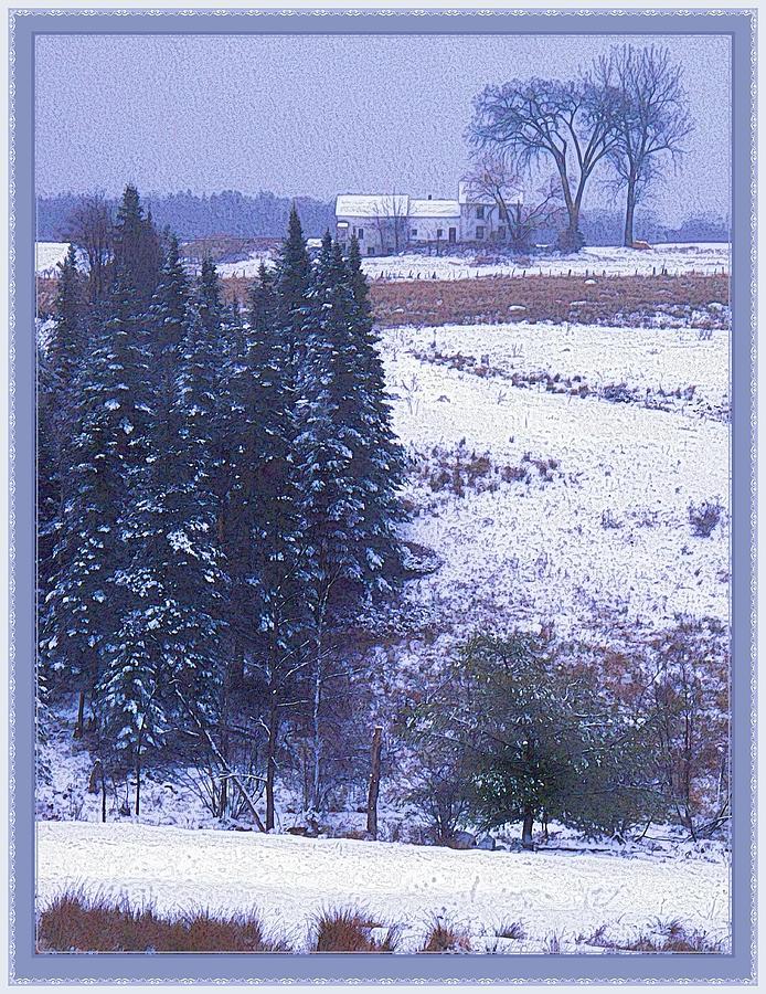 Snow's Arrival Photograph - Snows Arrival by Joy Nichols