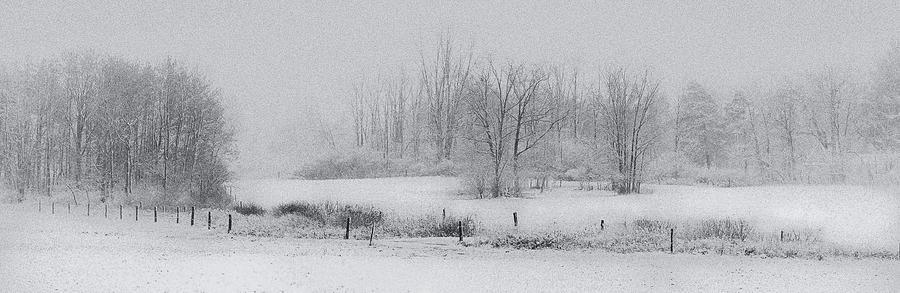 Snowy Fields Photograph