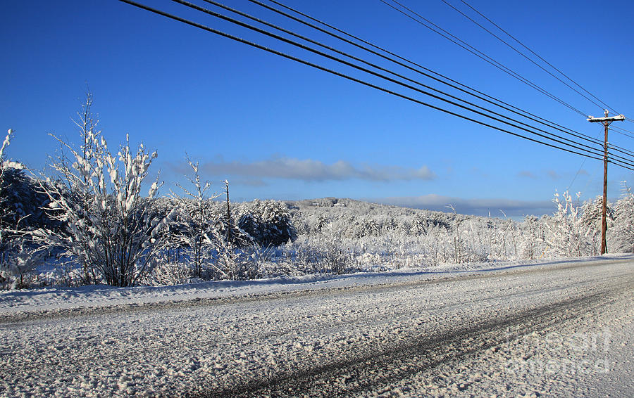 Snowy Roads Photograph