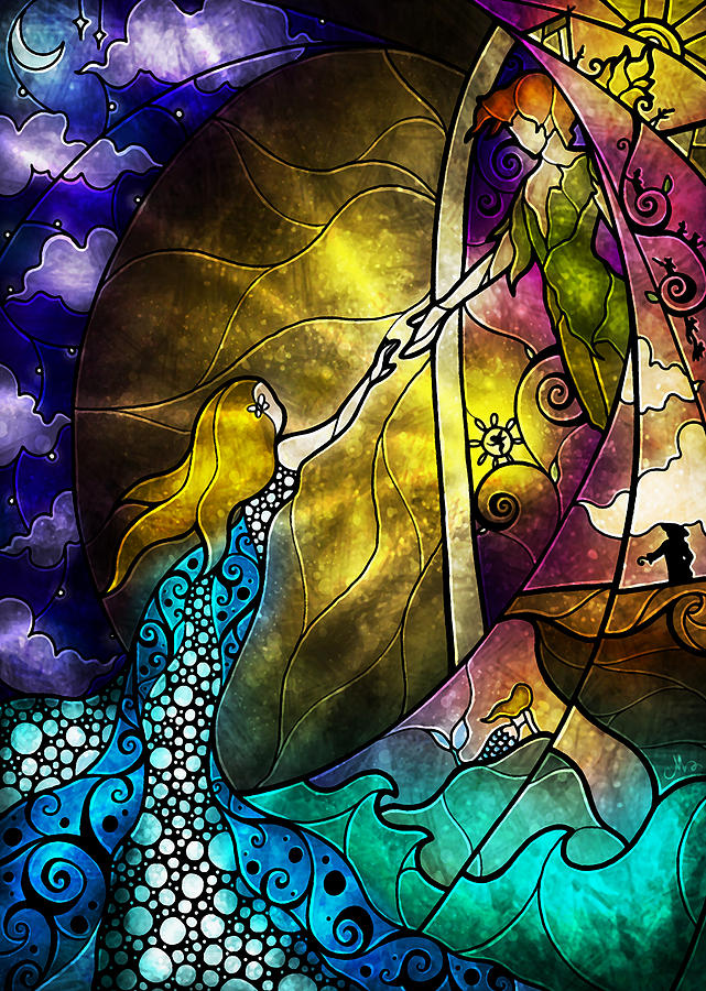 So Come With Me Where Dreams Are Born Digital Art  - So Come With Me Where Dreams Are Born Fine Art Print