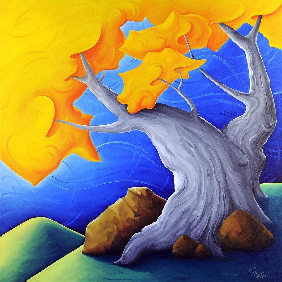 Landscape Painting - Soaring Dreams by Richard Hoedl