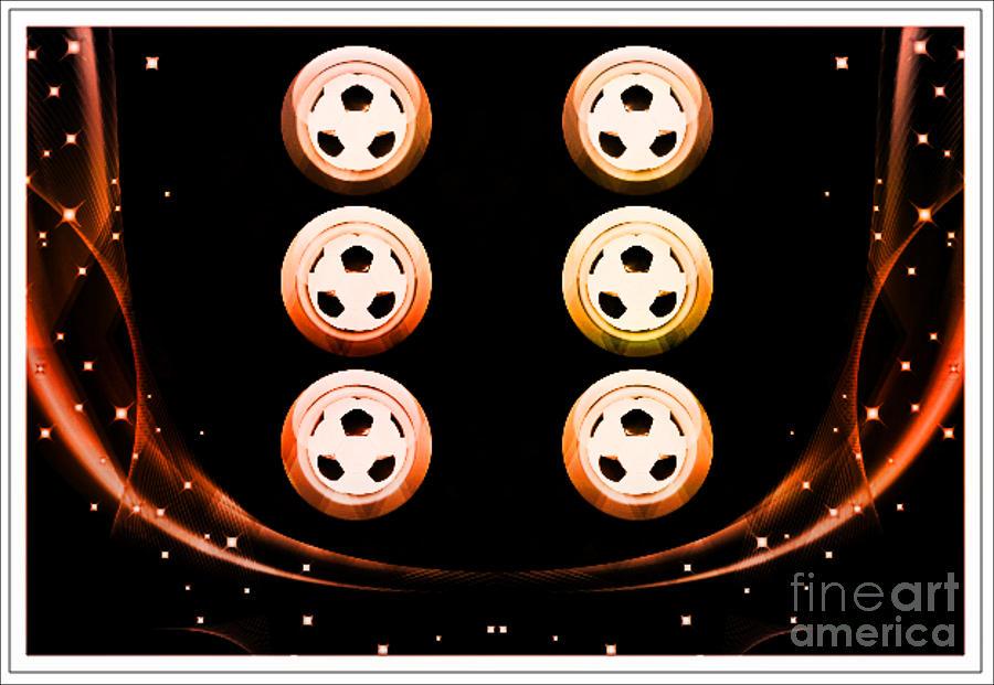 Soccer Medallions Digital Art