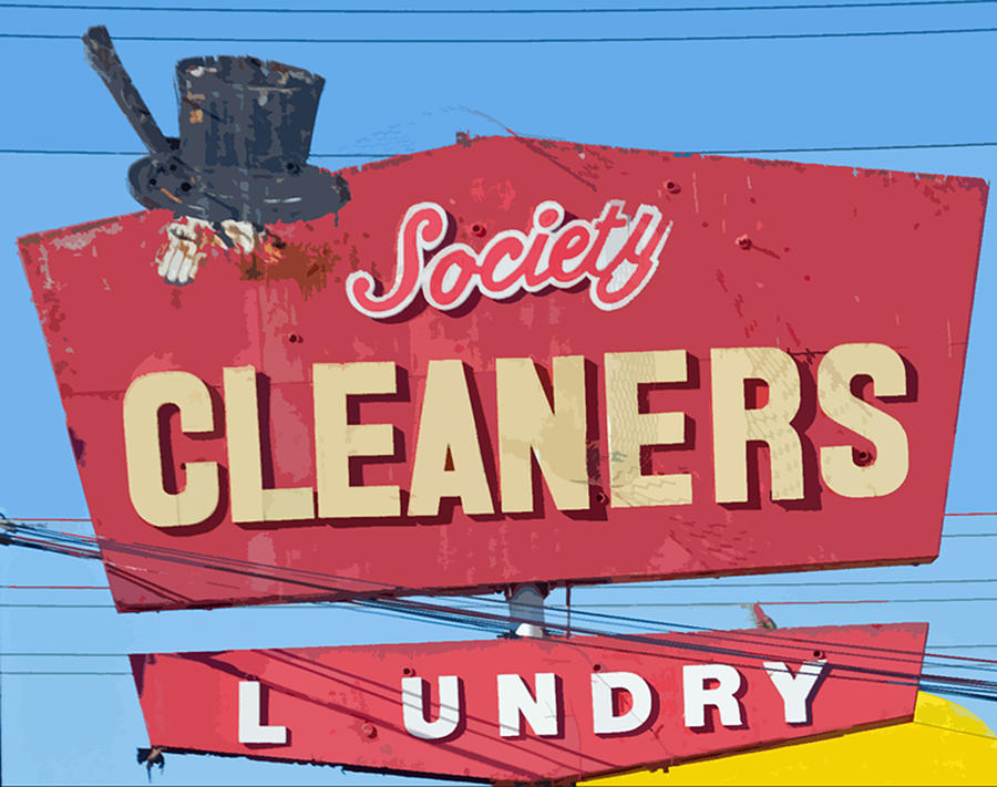 Society Cleaners Photograph