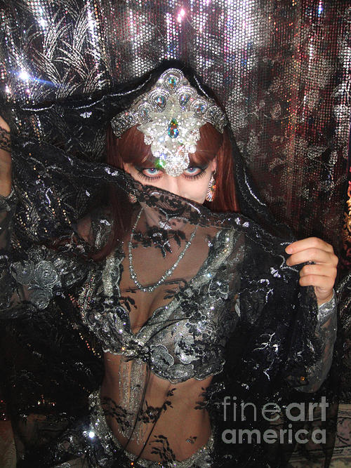 Sofia Metal Queen Black Metal Bellydancer Photograph