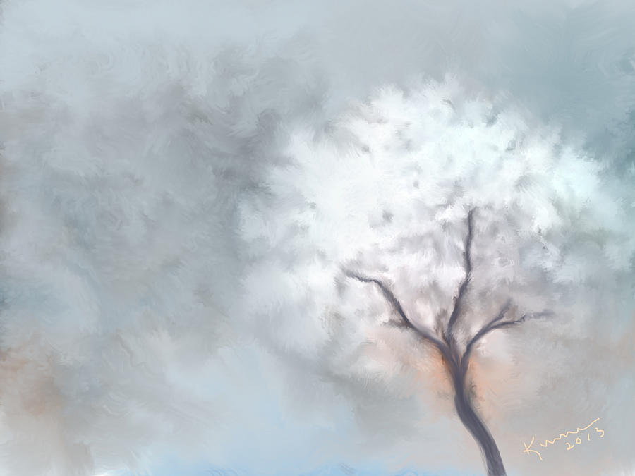 Soft Dream Painting  - Soft Dream Fine Art Print
