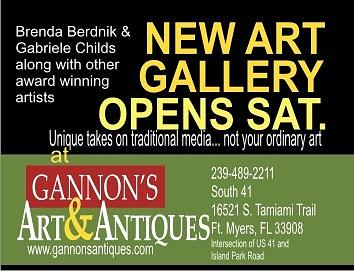 New Mixed Media - Soft Opening Ad April 6th by Brenda Berdnik