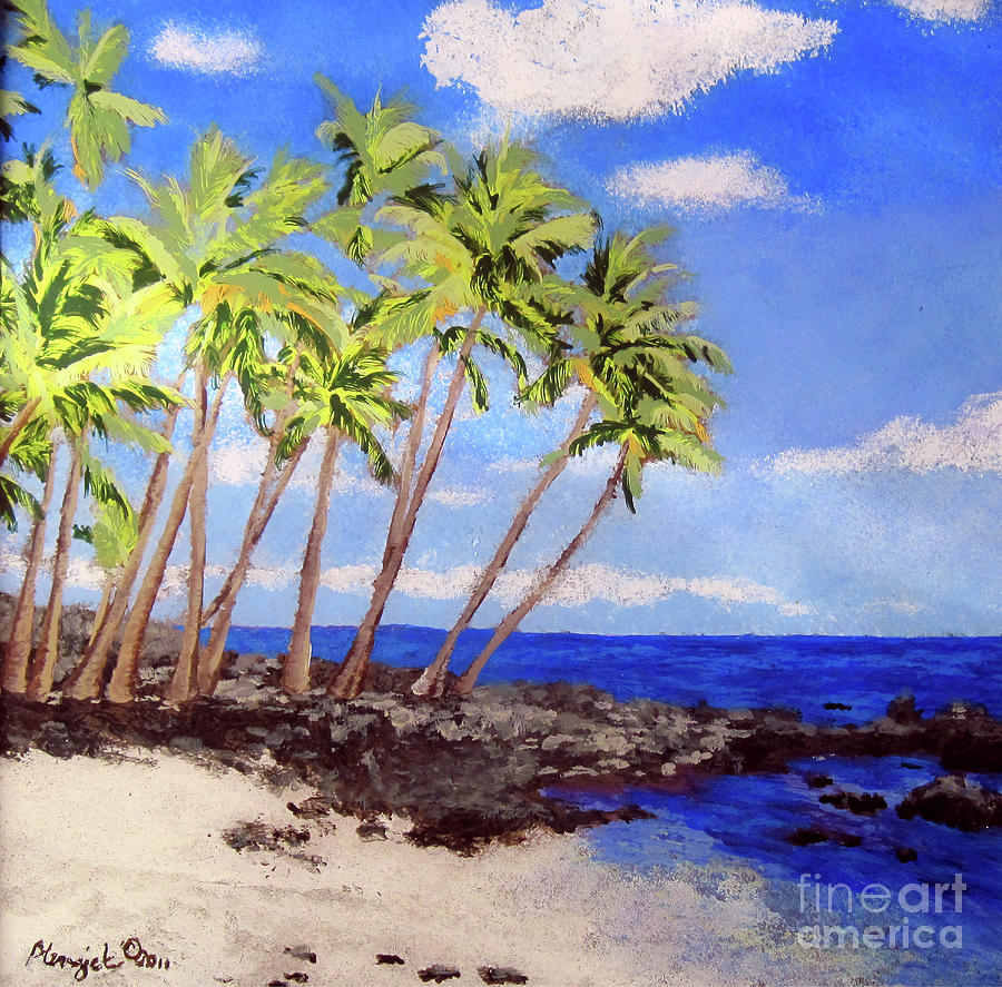 Soft Seabreeze Painting  - Soft Seabreeze Fine Art Print