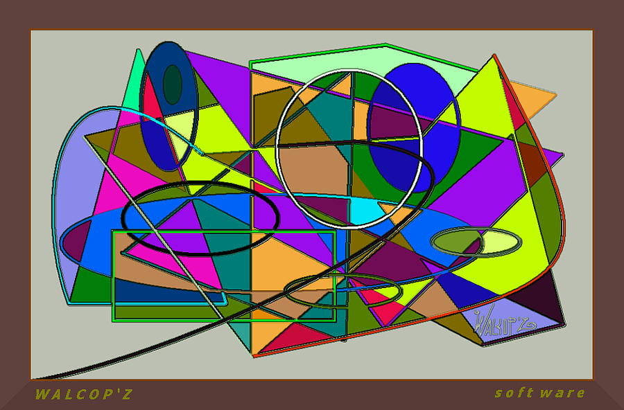 Software Digital Art By Walcopz Valencia