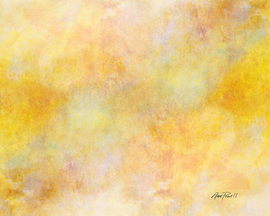 Solar Heat Abstract Art Painting