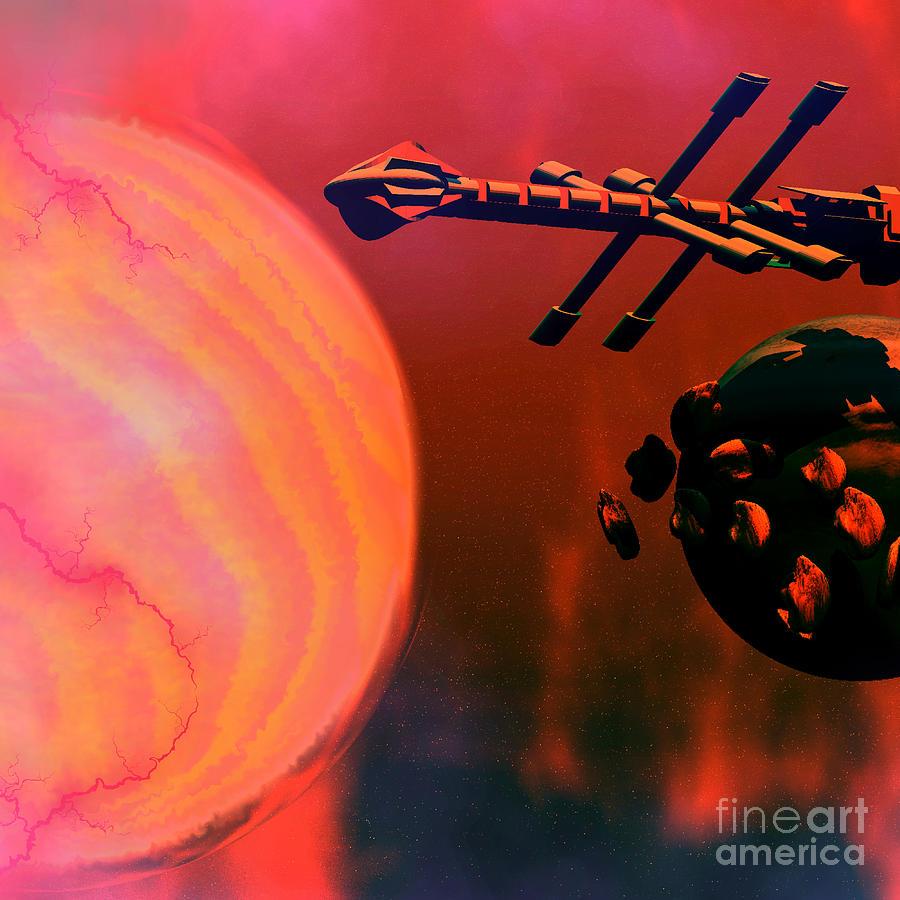 Solar Nexus Painting