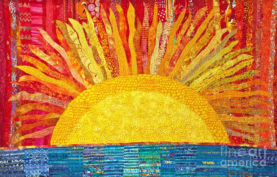 Solar Rhythms Tapestry - Textile