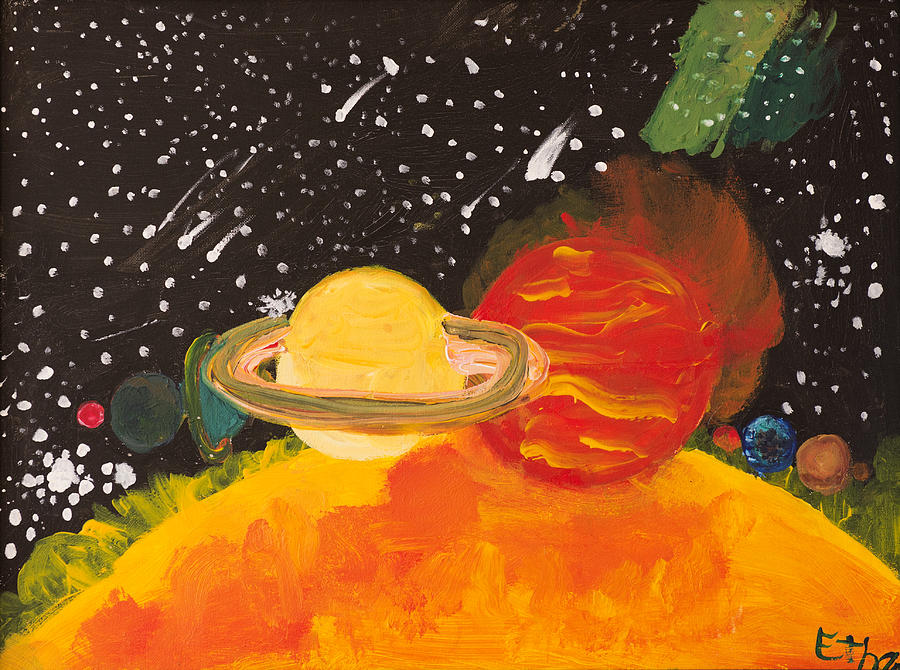 solar system paintings - photo #47
